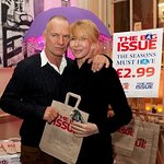 Sting And Trudie Styler Attend Bag Issue Launch