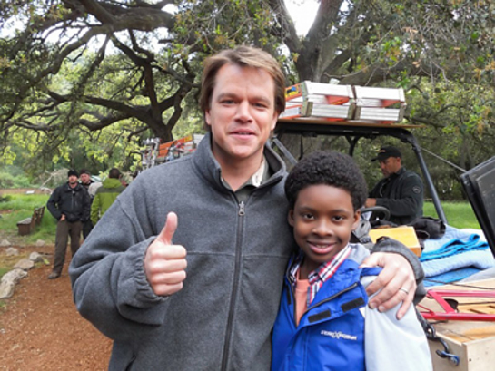 Matt Damon and Charles