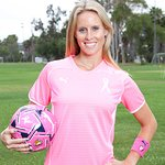 LTTS Exclusive: Soccer Star Goes Pink For Breast Cancer