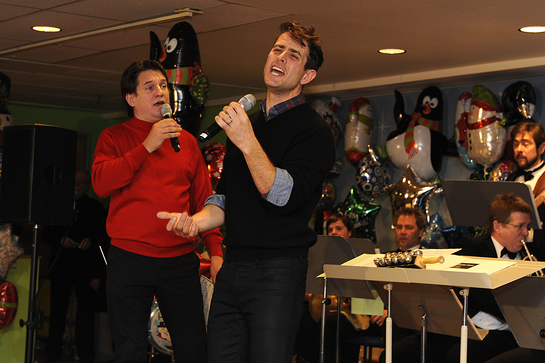 Keith Lockhart and Joey McIntyre