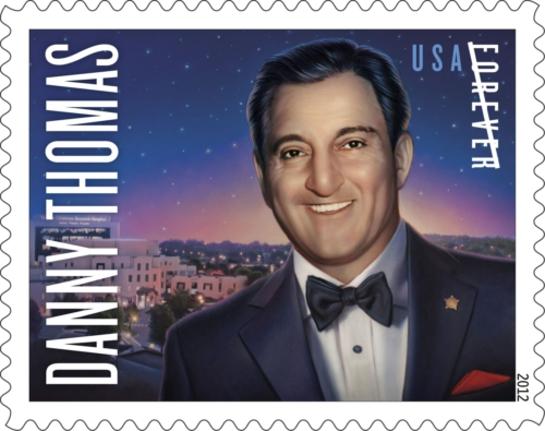 Danny Thomas Stamp