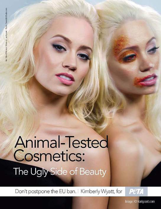 Kimberly Wyatt PETA ad