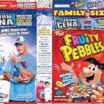 John Cena Brings Charity To New Cereal Box Design