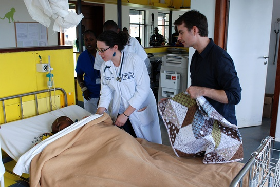 Jeff Gordon Visits Rwanda