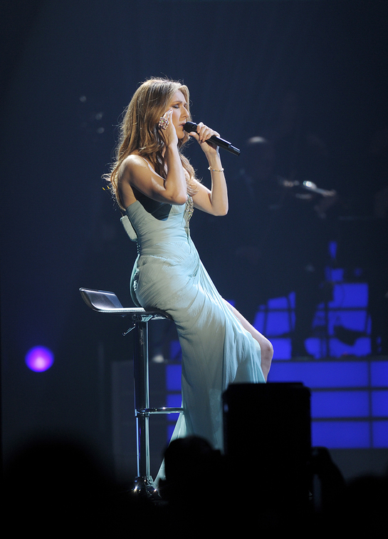 Celine Dion Performs at Sickle Cell Benefit