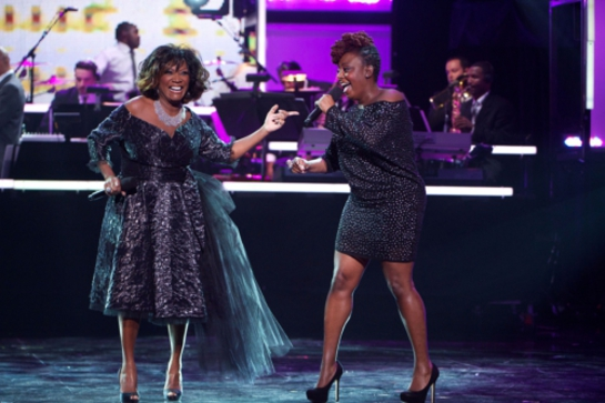 Patti LaBelle and singer/songwriter Ledisi share the spotlight during UNCF AN EVENING OF STARS