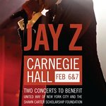 Jay-Z Charity Show Tickets Go On Sale Today