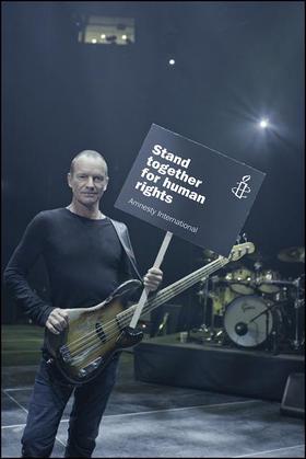Sting Amnesty International