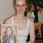 True Blood Star Auctions Unique Portrait For Charity