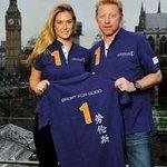 Bar Refaeli Unveils Laureus Sport For Good Shirt