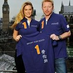 Bar Refaeli Unveils Laureus Sport For Good Shirt