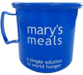 Mary's Meals Blue Mug