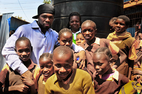 50 Cent In Africa