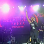 Mary J. Blige Performs At (RED) Event