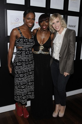 Estelle, Tika Sumpter and Natasha Bedingfield
