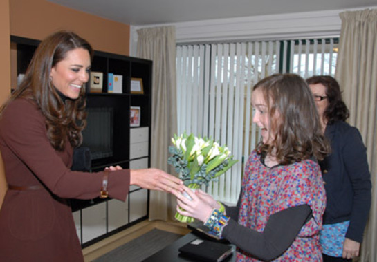 Duchess of Cambridge Visits Alder Hey