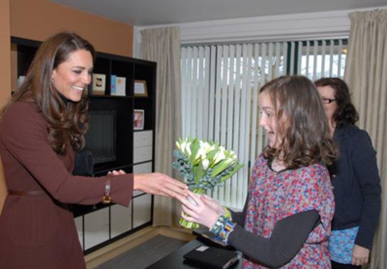 Duchess of Cambridge Visits Alder Hey