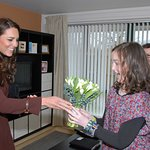 Duchess Of Cambridge Visits Charities In Liverpool