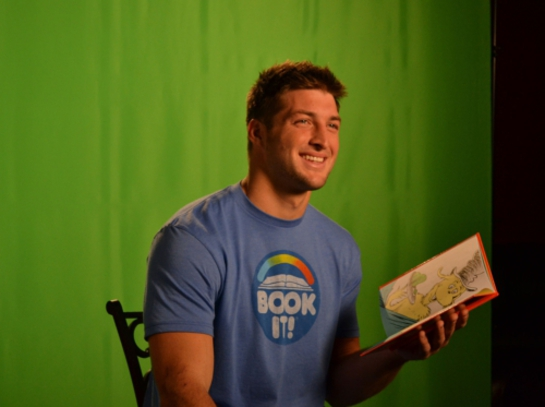 Tim Tebow Book It!