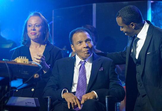 Sean Combs honors Muhammad Ali during his 70th birthday celebration
