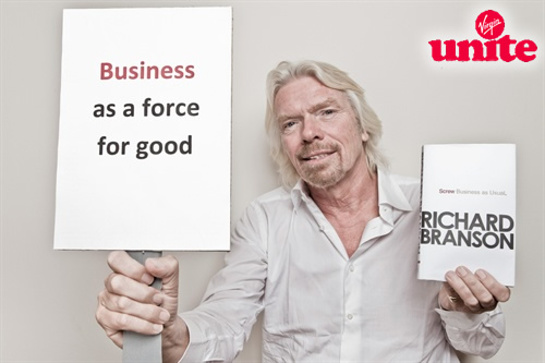 Richard Branson Screw Business As Usual