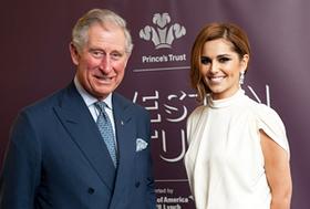 Prince Charles and Cheryl Cole
