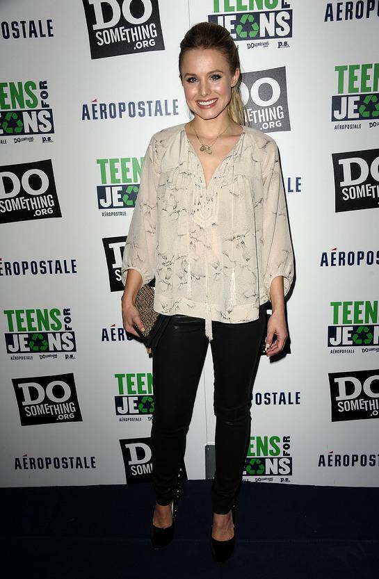 Kristen Bell Teens for Jeans