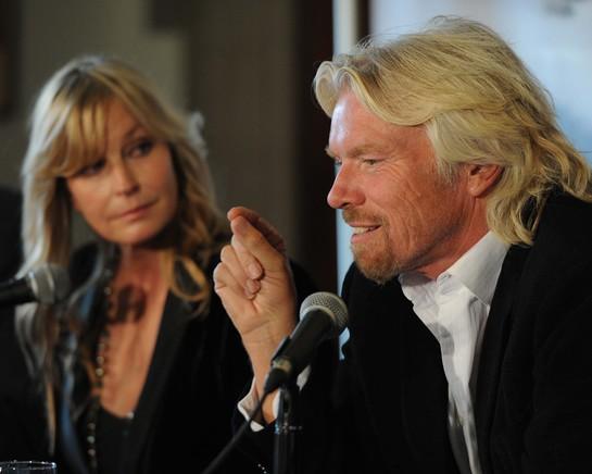 Branson and Bo Derek announce WildAid Canada's Polar Bear Campaign