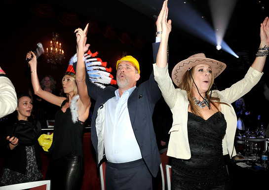 Heidi Klum, Tom Hanks, Rita Wilson YMCA