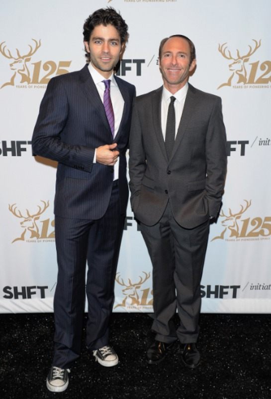 Adrian Grenier and producer Peter Glatzer