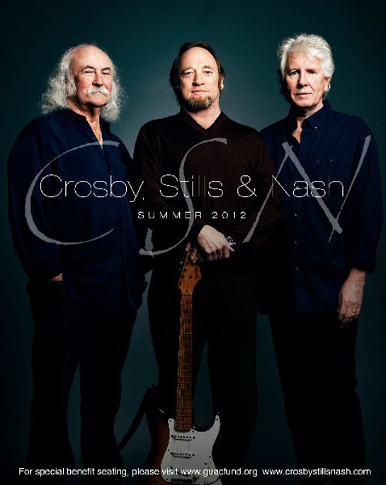 Crosby Stills Nash Summer 2012