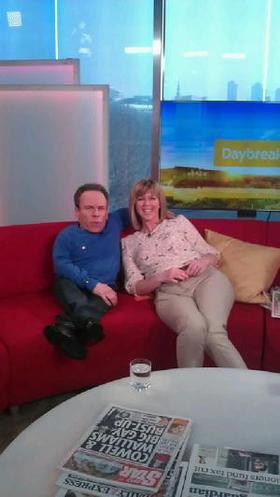 Warwick Davis With Kate Garraway