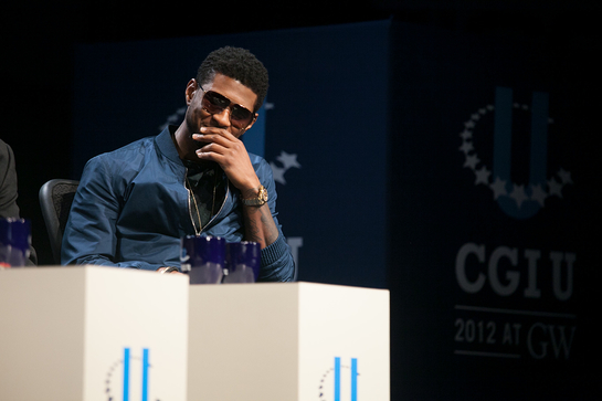 Usher Opens CGI-U