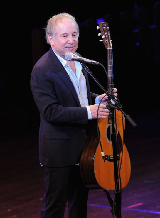 Paul Simon performs during a Celebration of Paul Newman's Dream to Benefit the SeriousFun Children's Network