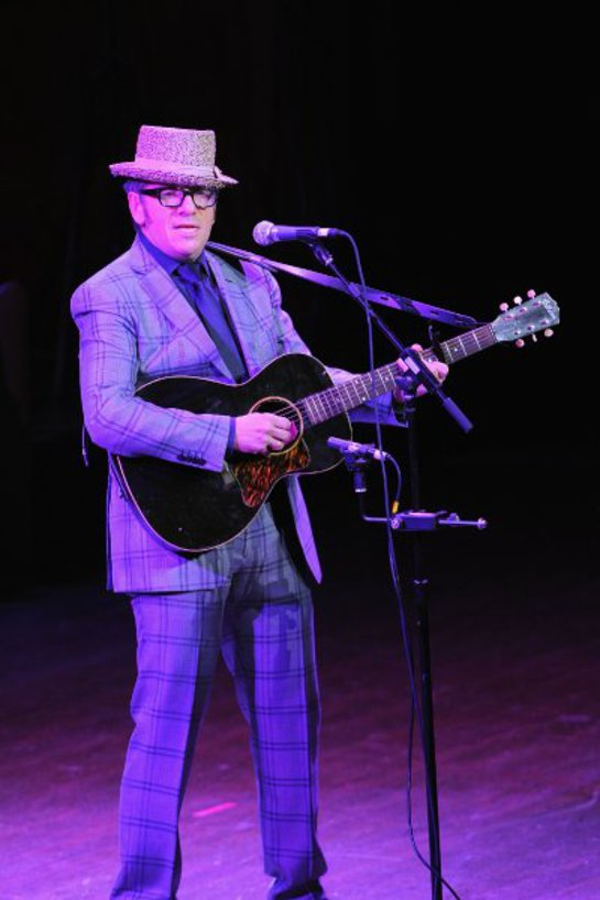Elvis Costello performs during a Celebration of Paul Newman's Dream to Benefit the SeriousFun Children's Network