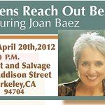 Joan Baez To Perform Charity Show For Citizens Reach Out