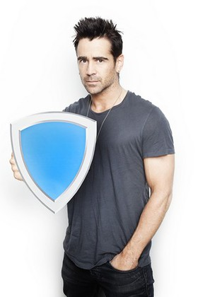 Colin Farrell Blue Shield