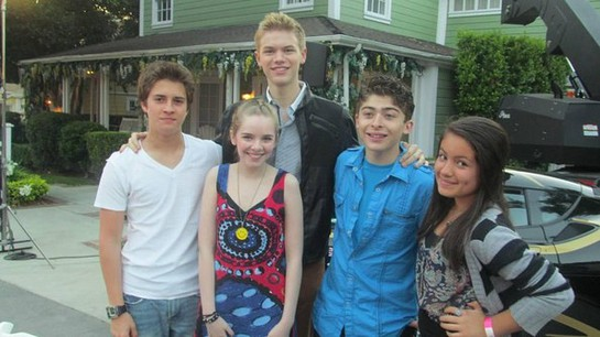 Billy Unger, Darcy Rose Byrnes , Kenton Duty, Ryan Ochoa, and Isabella Rae Thomas