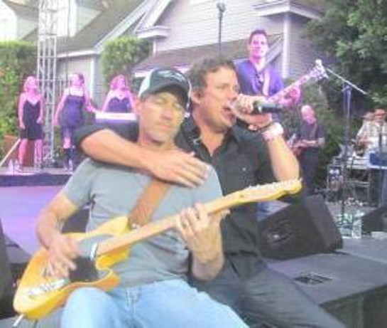 James Denton and Bob Guiney