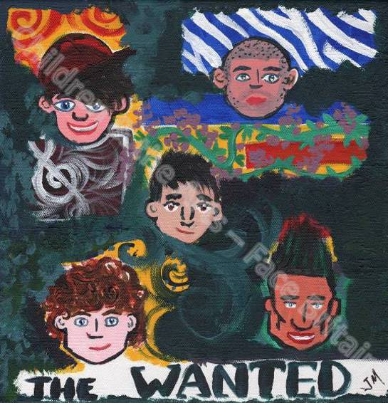 The Wanted Self Portrait