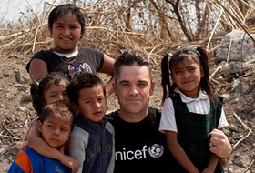 Robbie Williams In Mexico