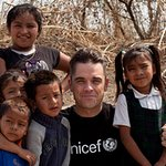 Robbie Williams Visits Mexico With UNICEF