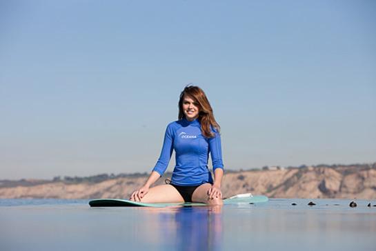 Aimee Teegarden Oceana PSA