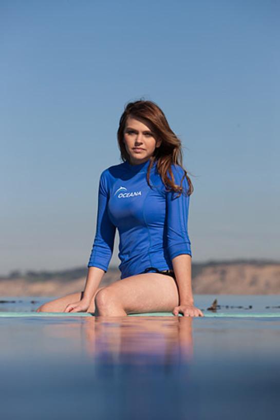Aimee Teegarden Oceana