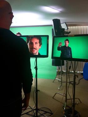 Bradley Cooper Filming Got Your 6 PSA