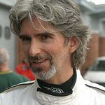 Damon Hill Gets On His Bike For Charity