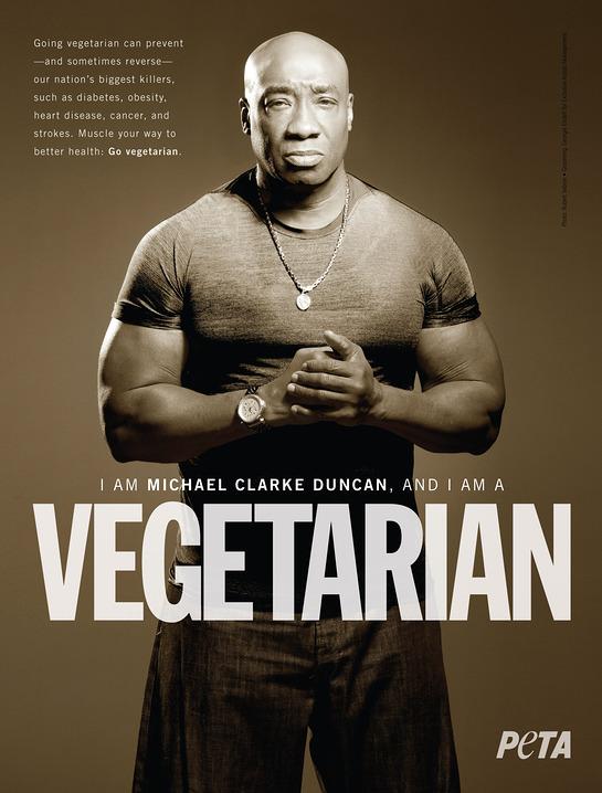 Michael Clarke Duncan for PETA