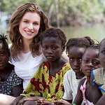 Tali Lennox Visits Sierra Leone With Christian Aid