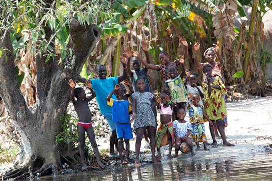 Tali Lennox in Sierra Leone