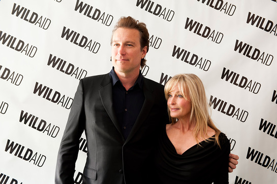 WildAid Gala John Corbett and Bo Derek